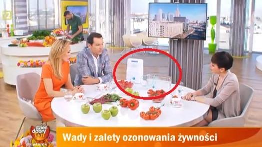Ozonator genereor ozonu ZY-H103 w Dzień Dobry TVN